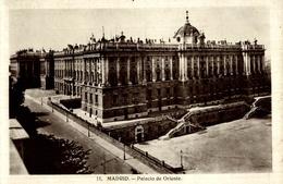 CPSM Madrid Palacio De Oriente - Madrid