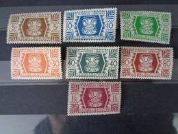 1944 WALLIS & FUTUNA Y&T N° 133 à 146 ** - SERIE DE LONDRES - Unused Stamps