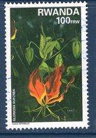 Rwanda, Timbre Oblitérés, Fleurs, Gloriosa Superba - Autres
