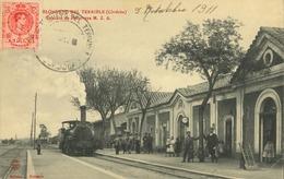 Espagne - Andaloucia - Cordoba - Pueblonuevo Del Terrible - Estacion De Penarroya M. Z. A. (rare) - Córdoba
