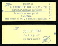 FRANCE - CARNET YT 2319-C3 - FERME - Gomme Mate - DATE - Sans N° De Confectionneuse - Carnets