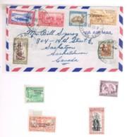 Western Samoa, 1952..., For Canada - Samoa