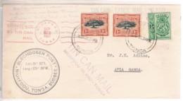 Tonga, 1937, Niuafoou-Samoa, Tin Can Mail - Tonga (...-1970)