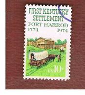 STATI UNITI (U.S.A.) - SG 1540  - 1974 FORT HARROD, KENTUCKY   - USED - Stati Uniti