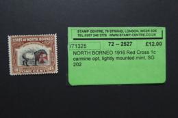 NORTH BORNEO SG 189 Light Mounted Mint - North Borneo (...-1963)