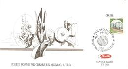 ITALIA - 1988 BAGANZOLA (PR)  Salone Int. Alimentazione Su Cartoncino Speciale - Alimentation