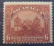 Nicaragua 1914 Seis Centavos Mint Hinged - Nicaragua