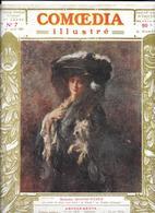 COMOEDIA 1er AVRIL 1909 - Mme SEGOND-WEBER -Poses Plastiques De COLETTE WILLY - 5 Pages Dessins De LEONETTO CAPPIELLO - Théâtre
