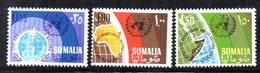 XP3667 - SOMALIA 1966 , Yvert N. 52/54  ***  MNH . Onu - Somalia (1960-...)