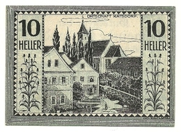 1921 - Austria - Bodendorf Notgeld N86 - Austria