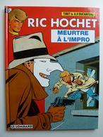 Ric Hochet, Meurtre à L'impro, En EO En TTBE - Ric Hochet
