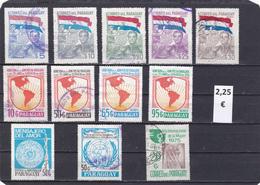 Paraguay  -  Lote  312 Sellos Diferentes  - 3/1132 - Paraguay