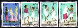 XP3693 - SOMALIA 1967 ,  Yvert N. 66/69  ***  MNH  Danze - Somalia (1960-...)