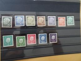 Bund Heuss II + III Postfrisch Komplett (7079) - Ungebraucht