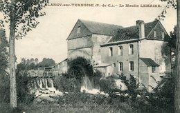 BLANGY SUR TERNOISE - Le Moulin LEMAIRE Belle Vue Entre Les Arbres - France