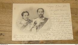 CPA De THAILANDE : Roi Et Reine ….................…MH-1969 - Thaïlande
