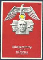 Carte De Propagande Allemande - Nürnberg Reichsparteitag 10 - 16 Septembre 1935 - Geschichte