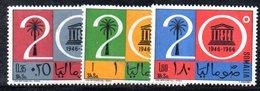 XP3814 - SOMALIA 1966 ,  Yvert N. 59/61 ***  MNH  Unesco - Somalia (1960-...)