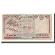 Billet, Népal, 10 Rupees, 2008, KM:61, B+ - Nepal