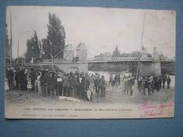 GUITRES PRES LIBOURNE - GONFLEMENT DU BALLON - France
