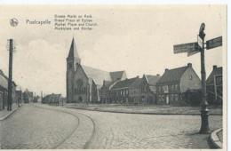 Poelkapelle - Poelcapelle - Groote Markt En Kerk - Grand Place Et Eglise - Edit H. Nuyttens - Langemark-Poelkapelle
