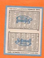 CALENDRIER DE POCHE 1951. PUBLICITE D' AUTRICHE. Achat Immédiat - Calendriers