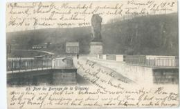 Gileppe - 63 - Pont Du Barrage De La Gileppe - 1903 - Gileppe (Barrage)