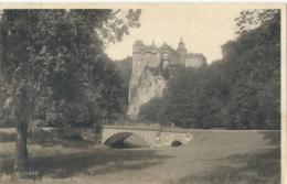 Modave - Château Et Pont Vue Du Parc - Ern. Thill No 224 - Modave