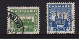 DENMARK, 1921, Used Stamp(s), Castle And Dom,   Mi 114-115, #10019, - 1913-47 (Christian X)