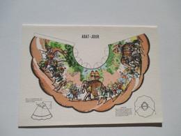 CPA   Abat-jour Prédécoupée à Monter Image D'Epinal éléphant - A Systèmes
