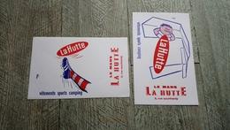 Buvard La Hutte Le Mans Vêtements Sport Camping Rue Couthardy Illustrateur Réno Lot 2 Buvards Football - Sports