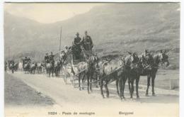 Furkapost 8 Poste De Montagne Bergpost Phototypie Co  Neuchâtel Env. 1908 - UR Uri