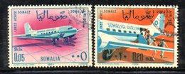 XP3804 - SOMALIA 1964 ,  Yvert N. 33/34  Usata - Somalia (1960-...)