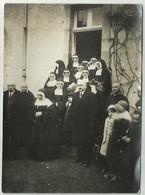 PHOTO ORIGINALE  D'un Groupe De Religieuses à LOGUIVY PLOUGRAS              Pa19 - Personnes Anonymes
