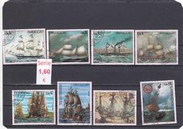 Paraguay  -  Serie Completa  (Barcos Transportes - Transport Boats)  - 3/1164 - Paraguay
