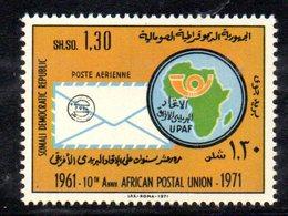 XP3781 - SOMALIA 1972 , Posta Aerea Yvert N. 43  ***   Upa - Somalia (1960-...)