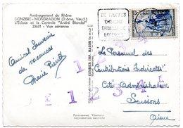 DROME - Dépt N° 26 = MONTSEGUR Sur LAUZON 1953 ? = Flamme DAGUIN  ' TRUFFES (champignon) + LEGENDES ' - Postmark Collection (Covers)