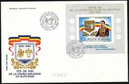 Romania/Roumanie: Unione Della Moldavia, Union Of Moldova, Union De Moldavie - Storia