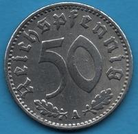 DEUTSCHES REICH 50 REICHSPFENNIG 1935 A KM# 87 - [ 4] 1933-1945 : Third Reich