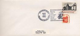 USA -  POUGHKEEPSIE  NY    - GEORGE  WASHINGTON  250th Birthday    EAGLE - Celebrità