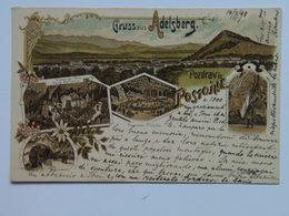 Slovenija Kras Notranjska Postojna Postumia Adelsberg 1898 Litho 111 - Slovenia