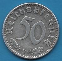 DEUTSCHES REICH 50 REICHSPFENNIG 1935 E KM# 87 - [ 4] 1933-1945 : Third Reich