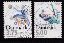 DENMARK, 1996, Used Stamp(s),Olympic Games, MI 1120=1123, #10222, 2 Values Only - Denemarken