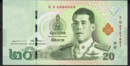 THAILAND NLPb 20 BAHT 28.7.2018 Signature 87  #5D Revised Text XF - Thaïlande