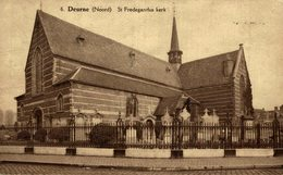 Deurne  St Fredegandus Kerk - Bélgica