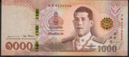 THAILAND NLP 10O0 BAHT 28.7.2018 Signature 87  #3B  XF-AU   (NO P.h. ) - Thaïlande