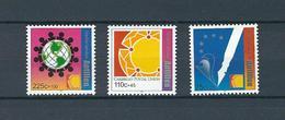 Netherlands Antilles, 2001, Social & Cultural Welfare 3v  MNH - Antillas Holandesas