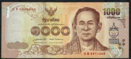 THAILAND P122a 1000 BAHT 2015  Signature 85  #0B   VF - Thaïlande