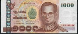 THAILAND P115j 1000 BAHT 2005  Signature 85  #9G   VF    NO P.h. - Thaïlande