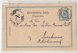 Austria Slovenia Postal Stationery Postcard Travelled 1901 Reifnitz Ribnica To Rohitsch-Sauerbrunn B190310 - Slovenia